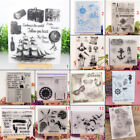 Sea Club Transparent Silicone Stamp Clear Cling DIY Scrapbooking Card Craft Gift