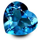 1.70Cts Glorious Natural Swizz Blue Topaz Heart Shape Nice Collection Gemstone