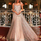 Women Maxi Dress Formal Cocktail Wedding Party Evening Bridesmaid Ball Prom Gown