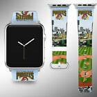 Pittsburgh Pirates Apple Watch Band 38 40 42 44 mm Fabric Leather Strap 03 on Ebay