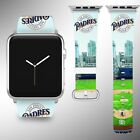 San Diego Padres Apple Watch Band 38 40 42 44 mm Fabric Leather Strap 03 on Ebay