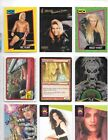 LOT OF 200 MIXED CARDS WITH MAGIC,WCW,MAGNUM,SKELETON,SUPER STARS,KNIGHT RIDER