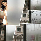 45 x 200CM PVC Frosted Privacy Frost Bedroom Bathroom Glass Window Film Sticker