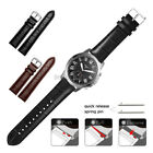 22mm 20mm Lug Crocodile Leather Wristband For Fossil Q Smart Watch Band Strap