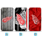 Detroit Red Wings Leather Case For Samsung Galaxy S10 S10e Lite S9 S8 Plus $7.99 USD on eBay