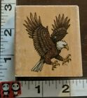 Eagle,c,claws out, hunting,715,rubber stampede,rubber,wood,stamp