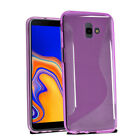 Galaxy J4+ Plus SM-J415FN/DS - Wave Gel Case Cover For Samsung J4+ Plus & Screen