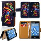 Leather Smart Stand Wallet Card Cover Case For Various Wiko Smartphones