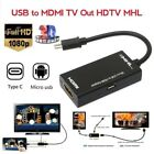 HEXIN Micro USB to HDMI TV Out HDTV MHL Adapter Cable for Android Samsung Huawei