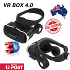 VR BOX 4.0 Virtual Reality Headset 3D Glasses for Samsung iphne X 8 7 AUS SL