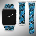Detroit Lions Apple Watch Band 38 40 42 44 mm Series 5 1 2 3 4 Wrist Strap 04 $32.99 USD on eBay