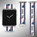 New England Patriots Apple Watch Band 38 40 42 44 mm Series 1 - 5 Wrist Strap 04 $32.99 USD on eBay