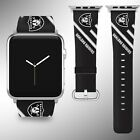 Oakland Raiders Apple Watch Band 38 40 42 44 mm Series 5 1 2 3 4 Wrist Strap 04 $32.99 USD on eBay