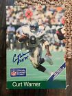 RARE Vintage Seattle Sehawks Curt Warner Signed Puzzle W/ Autograph Ticket!