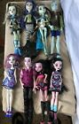 Mattel Monster High Doll Lot Dolls Lot Of 8