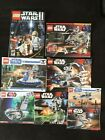 Lego Star War lot of 8 manuals job  lot manuals only good pre owned condition