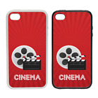 Cinema - Rubber or Plastic Phone Case #2 - Movies Films Cinema Show TV SciFi