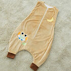 Soft new baby child animal sleeping bag with feet  1-7 years old