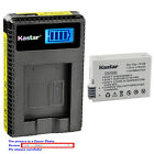Kastar Battery LCD USB Charger for Canon LP-E8 LC-E8 Canon EOS Rebel T4i Camera