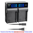 Kastar Battery LCD Rapid Charger for Canon LP-E8 LC-E8 & Canon EOS 600D Camera
