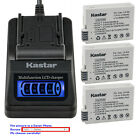 Kastar Battery LCD Quick Charger for Canon LP-E8 LC-E8 & Canon EOS 650D Camera