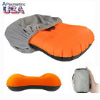 Portable Air Pillow Inflatable Ultralight Camping Travel Outdoor with Cover Set