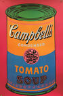 "Andy Warhol - Campell's Tomato Soup Can 1968 - 1993 - Large Offset 34.25"" x 51"""