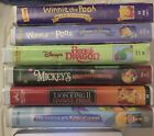 DISNEY CLASSIC FAMILY/CHILDREN VHS MOVIES