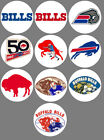 Buffalo Bills Set of 10 Buttons or Magnets Set 1.25 inch $5.0 USD on eBay