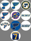"St. Louis Blues Set of 10 Buttons or Magnets Set 1.25"" NEW $4.5 USD on eBay"