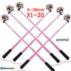 LOT Handheld Shutter Selfie Stick Photo Capture For iPod iPhone Samsung Android.