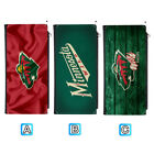 Minnesota Wild Woman Men Leather Clutch Wallet Bifold Purse Handbag $12.99 USD on eBay