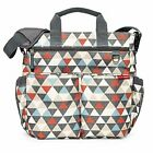 Skip Hop Messenger Diaper Bag With Matching Changing Pad, Duo Signature, TAX FRE