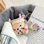 Cute Cartoon Pendant Strap Earphone Case Cover for Apple Airpods Charging