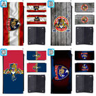 Florida Panthers Woman Leather Long Wallet Zipper Purse Clutch $12.99 USD on eBay