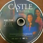 CASTLE SEASON 5 (DVD) REPLACEMENT DISC #5