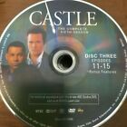 CASTLE SEASON 5 (DVD) REPLACEMENT DISC #3