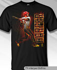 Philadelphia Phillies MLBPA #3 Bryce Harper ON FIRE Youth Boys Tee Shirt Black on Ebay