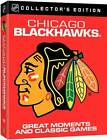 NHL Chicago Blackhawks Great Moments and Classic Games - Good $53.55 USD on eBay