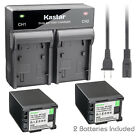 Kastar Battery Rapid Charger for Canon BP-820 BP-828 & Canon VIXIA XA40 Camera
