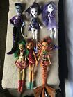 Mattel Monster High Doll Lot Dolls Lot Of 6
