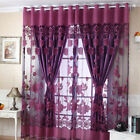 Kyпить Luxurious Jacquard Window Curtains Burnout Tulle for Home Living Room Bedroom на еВаy.соm