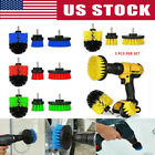 3Pcs Set Tile Grout Power Scrubber Cleaning Drill Brush Tub Cleaner Combo kit US