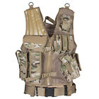 Fox Outdoor Camping Hunting Military Tatical Vest MACH-1 Polyester One Size New