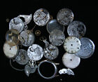 HUGE Lot A.Schild AS1194 AS1294 military watch movement PARTS REPAIR SteamPunk