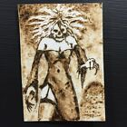 Zombie Girl Original Art ACEO Sketch Card Horror Dark Fantasy Goth Trefethen