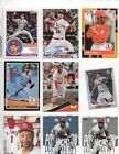 LOT OF 200 CARDINALS BASEBALL CARDS WITH SMITH,GIBSON,SUTTER,DeJONG,HICKS ROOKIE
