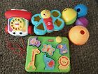 Fisher Price Baby Toy Lot Used