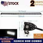 32inch Spot & Flood LED Light Bar Work Light Driving / Fog Offroad Lamp JEEP UTE