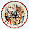Vintage Wedwood Victorian Christmas Plate John Finnie The Bellringers 1989